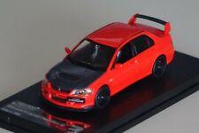 Mitsubishi Lancer Evolution IX rot/schwarz 1:43 Vitesse 29370 neu & OVP