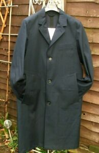 BN Stutterheim Gents Raincoat Navy Blue, Taped Seems Waterproof Size Medium