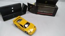 Maisto Yellow Ferrari 288 GTO Shell Sports Car Collection Diecast Model Toy