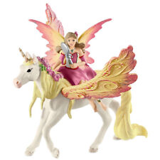Schleich Bayala Fairy Freya with Pegasus Unicorn Collectable Fantasy Figure NEW