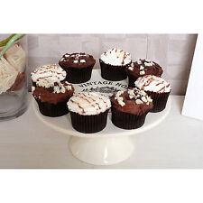 Vintage Home Cake Stand Plate Cream Ceramic Wedding Display Cupcake Cake Muffin