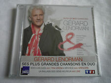 CD  GERARD LENORMAN  DUO DE MES CHANSONS