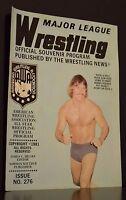 Major League Wrestling Official Souvenir Program 1981 Issue No 276