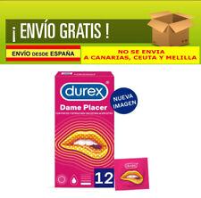 Durex Dame placer - preservativos con puntos y Estrías 12 (Dame Placer)