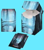 ULTRA PRO MAGIC THE GATHERING UNSTABLE LANDS SWAMP 100+ DECK BOX w/divider mtg
