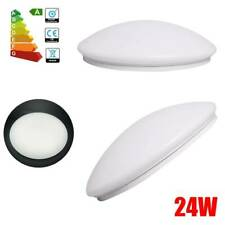 New Listing24W Round Led Ceiling Lights Flush Mount Fixtures Lamp Kitchen Bedroom Lighting