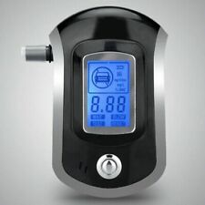 Professional Breath Blood Alcohol BAC Tester Blow-In Breathalyzer Digital Device