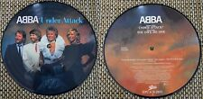 "ABBA PICTURE DISC 45T ""UNDER ATTACK"" 1982"