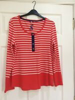 JOULES TILLY STRIPED TOP IN NEWMELN UK 16 NEW W/OUT TAGS