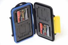 TWO Sandisk Extreme III 8GB CF Memory Cards w/ Waterproof Case (16GB)
