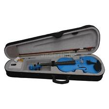 4/4 Full Size Violin Fiddle Basswood Steel String Arbor Bow for Beginners T3N4