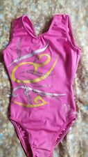 Girls  Milano.   Pink.  gymnastics leotard. Size. 5_6 years.