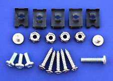 57 Chevy Deluxe Heater Bezel Assembly Fastener Kit 1957 Chevrolet New