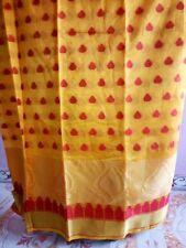 New Designer Sari Indian Ethnic Cotten Silk Wedding Look Party wear Saree Blouse