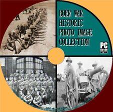 2600+ VINTAGE BOER WAR IMAGES ARCHIVE PC-CD MAPS BADGES MEMORABILIA HISTORY NEW