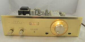 VINTAGE H H SCOTT STEREOMASTER TYPE 350 WIDEBAND FM MULTIPLEX RECEIVER TUNER