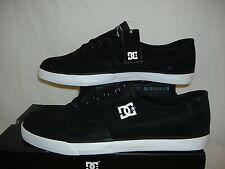New Mens 14 DC Flash All Black Canvas Vegan Skate Shoes $50