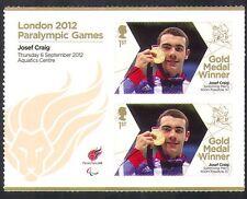 GB 2012 Juegos Paralímpicos/Olimpiadas/Deportes/ganadores de medalla de oro/Josef Craig 2 V + n36307