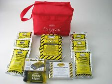 72 hr. Emergency Survival Kit - Economy 1 Person KT3SP Mayday Food Bar,Water,