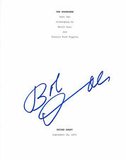 **The Godfather *ROBERT DUVALL* Signed 8.5x11 Movie Script Cover D1 COA**