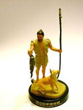 RARE Kaiyodo National Museum of Science Jomon Prehistoric Caveman & Dog Figure