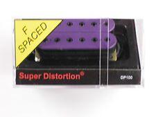 DiMarzio F-spaced Super Distortion Bridge Purple W/Black Poles DP 100