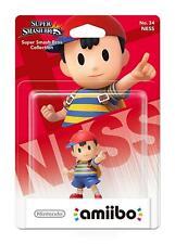 Ness No 34 amiibo - Super Smash Bros Collection (Nintendo Wii U/3DS) - NEW