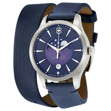 Victorinox Swiss Army Alliance Small Blue Dial Ladies Watch 241755