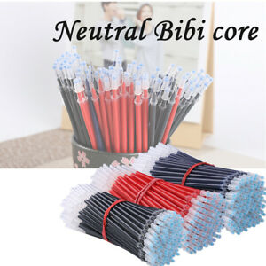 Gel Ink Pen Refill Black Blue Red 0.5mm 0.38mm Office School Stationary