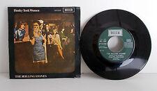 "THE ROLLING STONES - Honky Tonk Women - 7"" Single Spain DECCA  MO 696 1969 VG++"