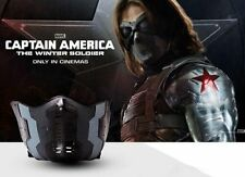 New Captain America The Winter Soldier Mask Rubber Face Mask Cosplay Props