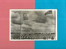U.S. MILITARY CEMETERY In MARGRATEN, HOLLAND Unused Vintage Real Photo Postcard