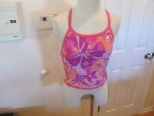 TYR NWT Tankini Bathing Swim Suit XL Pink purple Luay Diamondback TRLU1A womens