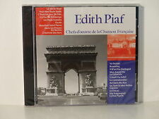 CD ALBUM Chefs d oeuvre de la chanson francaise EDITH PIAF CF 001  NEUF
