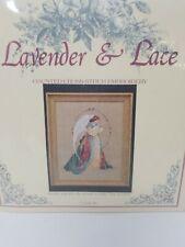 Lavender & Lace c.1989 - Cross Stitch KIT: GUARDIAN ANGEL