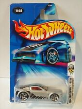 2004 Hot Wheels #048 Ford Mustang GT Concept 2004 First Editions   Silver
