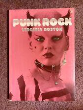 PUNK ROCK- Virginia Boston, '78 1st PB Edition *Early Punk Photobook*V.RARE+OOP!