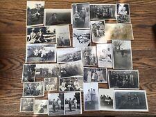 Early C20th century social history b/w photographs postcards FASHION/HATS/DRESS