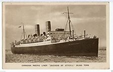 Inter-War (1918-39) Collectable Cruise Liner Postcards
