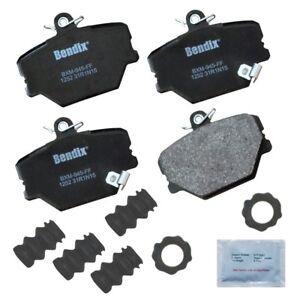 Disc Brake Pad Set fits 2008-2015 Smart Fortwo  BENDIX PREMIUM COPPER FREE