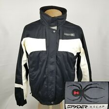 Spyder Entrant GII Womens Snowboarding Ski Jacket Coat Size 14 Black White