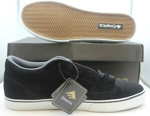 NIB Emerica Jinx Black/White Men's Skating Shoes Skater 7,8,9,12,13