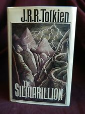 The Silmarillion by JRR Tolkien 1st US Edition, 1st Print, 1977 WITH MAP