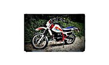 1983 honda xl600 Bike Motorcycle A4 Photo Poster
