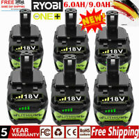 Für Ryobi P108 Akku 18 V 9,0Ah 6.0Ah ONE Plus RB18L50 Batterie RB18L40 P104 ACCU