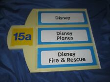TOYS R US Exclusive Store Display/Sign  ~DISNEY / DISNEY PLANES / FIRE & RESCUE