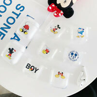 Silicone Cute Cartoon Mickey Earphone Protective Cover For Airpods Charging Case