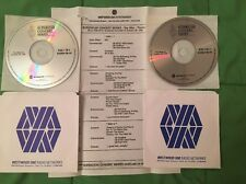 The Who - Tommy Superstar Westwood One Radio Show #95-44 with Original Cue Sheet