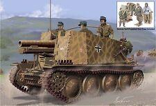 1/35 German Geschutzwagen 38 H fur s.IG.33/1 'Grille' w/crew ~ NEW Dragon #6857