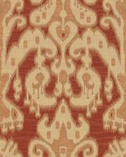 Kravet Red Gold Ethnic Ikat Weave Upholstery Fabric 2.60 yd (31446-24)
